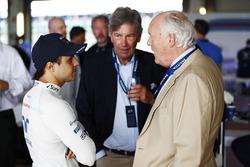 Felipe Massa, Williams avec des invités aux 40 ans de l'équipe