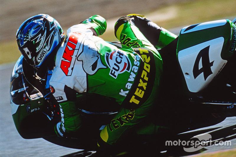 Akira Yanagawa, Kawasaki Racing, ganador Sugo, 1999