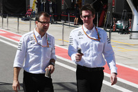 Andy Shovlin, ingegnere Mercedes AMG F1