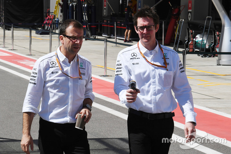 Andy Shovlin, Mercedes AMG F1 Engineer