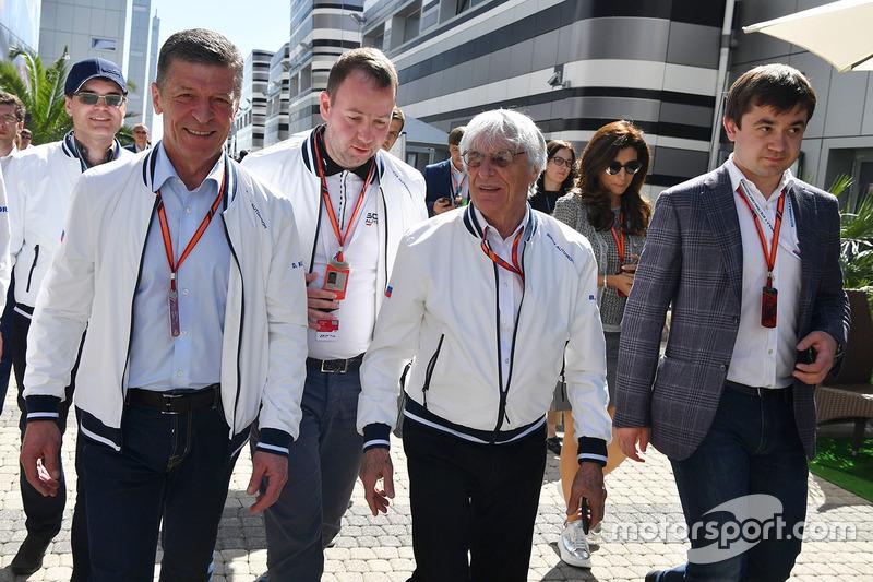 Dmitry Kozak, Deputy Prime Minister of the Russian Federation, Bernie Ecclestone, Sergey Vorobyev, S