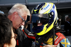 Racewinnaar Joel Eriksson, Motopark Dallara F317 - Volkswagen