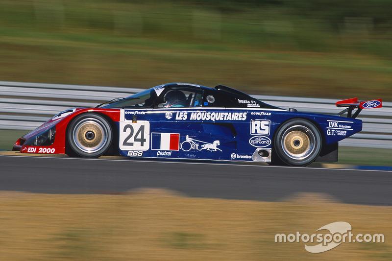 #24 Graff Racing Spice SE89C: Jean-Bernard Bouvet, Richard Balandras, Bruno Miot