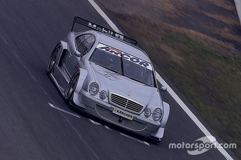 Bernd Schneider and Klaus Ludwig, probó el Mercedes CLK, HWA AG