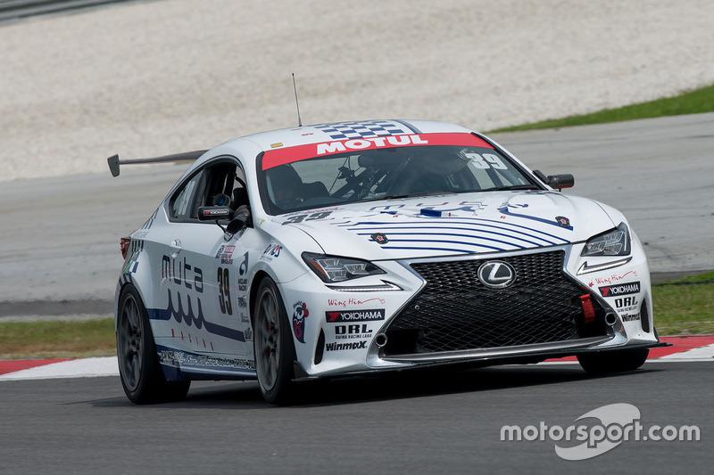 #39 Muta Racing TWS RC350, Lexus RC350, Ryohei Sakaguchi, Makoto Hotta, Teruhiko Hamano