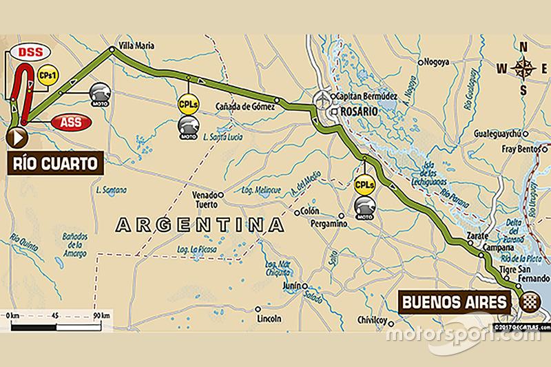 12. Etappe: Rio Cuarto - Buenos Aires