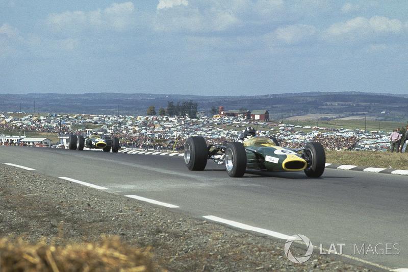 #10: Graham Hill, Lotus 49, Watkins Glen 1967: 1:05,480