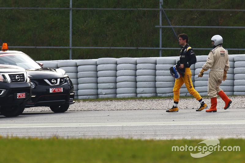 Jolyon Palmer, Renault Sport F1 Team Sport spins