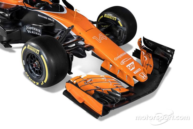 McLaren MCL32 ön kanat
