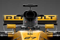 Renault RS17: Airbox