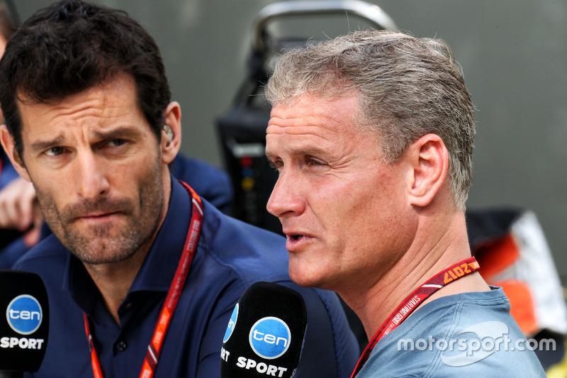 Mark Webber und David Coulthard