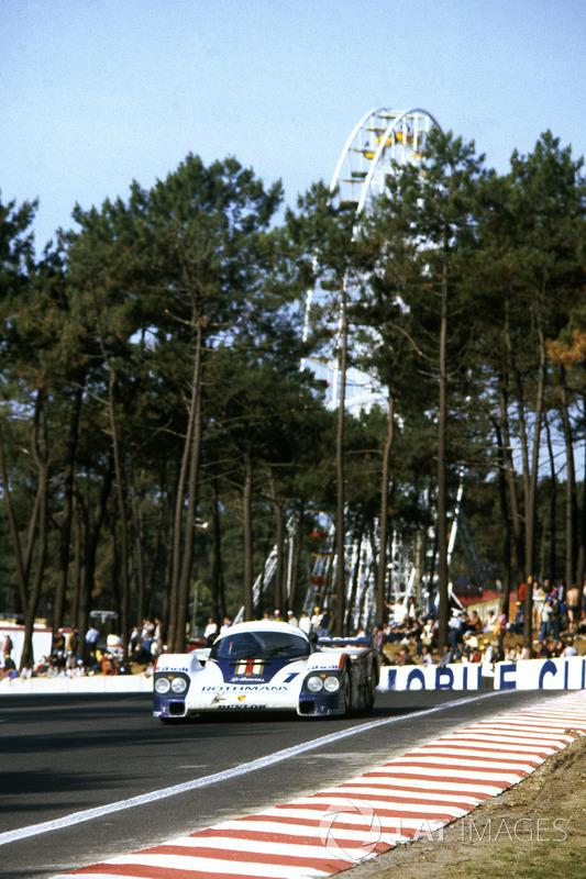 Jacky Ickx, Derek Bell, Porsche 956