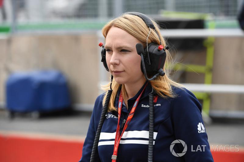 Ruth Buscombe, Sauber F1 Estratega de carrera