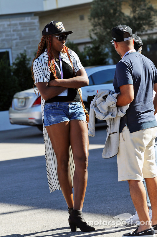 Venus Williams, jugadora de tenis