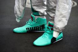 Puma botas de carrera de Nico Rosberg, Mercedes AMG F1