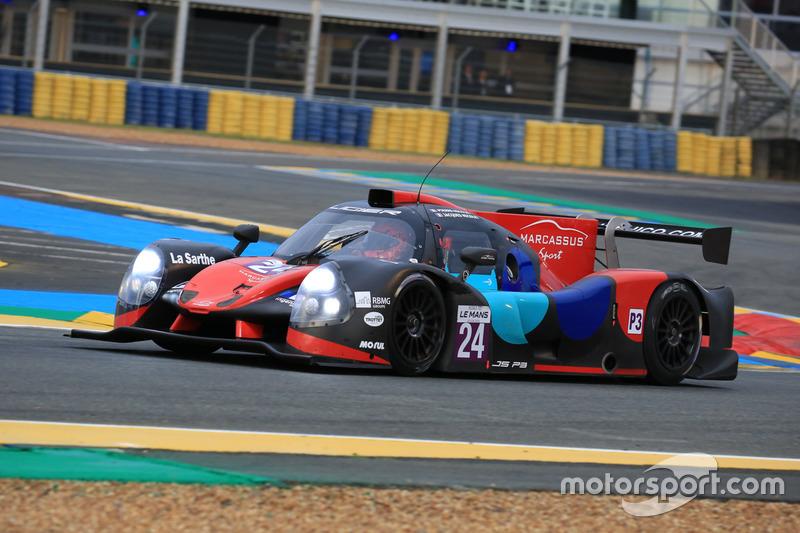 #24 Oak Racing Ligier JPS3 - Nissan: Jacques Nicolet, Pierre Nicolet