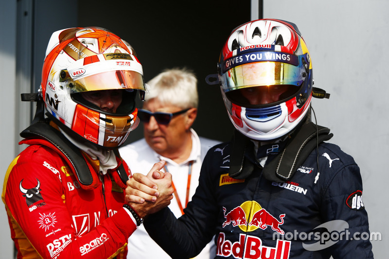 Norman Nato, Racing Engineering and Pierre Gasly, PREMA Racing