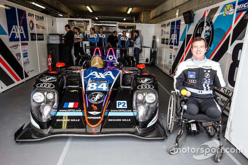 24h Le Mans: Frédéric Sausset und sein #84 Morgan-Nissan