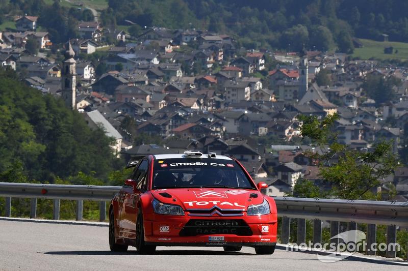 Luca Pedersoli, Anna Tomasi, Citroen C4 WRC