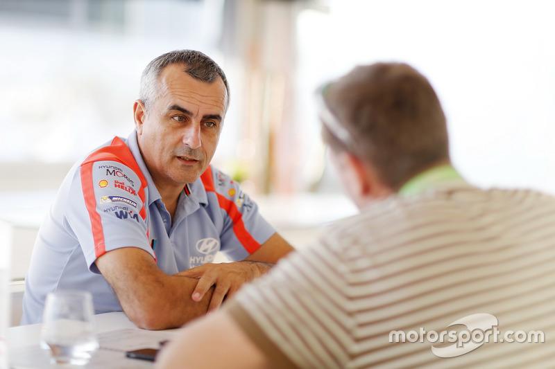 Alain Penasse, Teammanager, Hyundai Motorsport
