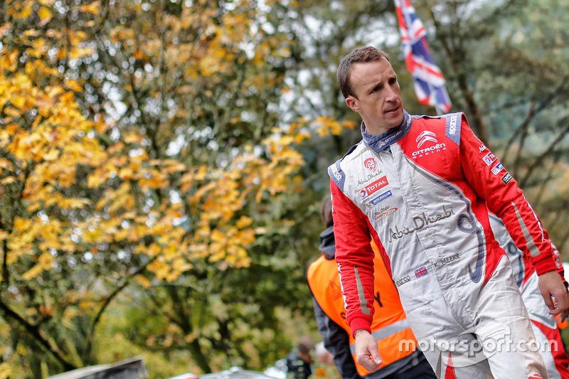 كريس ميك، سيتروين دي.أس3 دبليو آر سي، فريق سيتروين العالمي للراليات