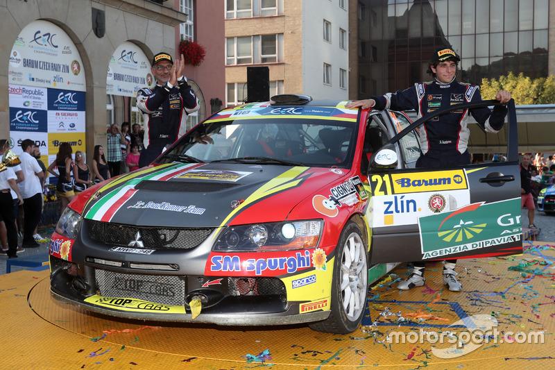 Giacomo Scattolon e Paolo Zanini, Mitsubishi Lancer EVO IX