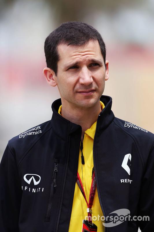 Remi Taffin, Renault Sport F1 Technisch Directeur Motor