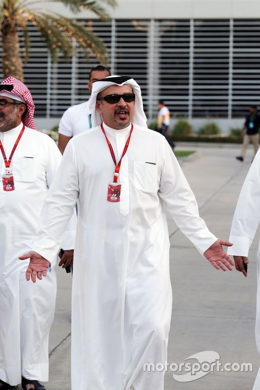 Kroonprins Shaikh Salman bin Isa Hamad Al Khalifa