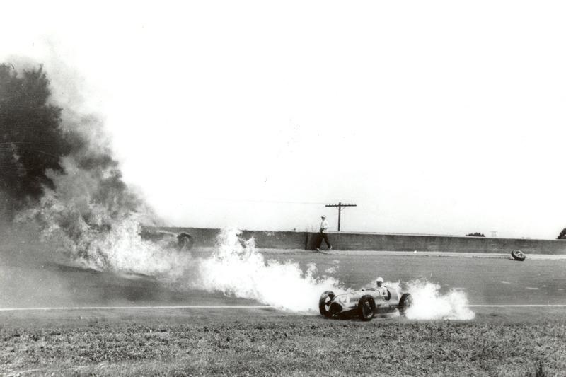 Duke Nalon on fire