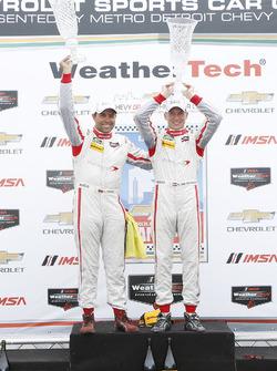 PC podium: winnaars Renger van der Zande, Alex Popow