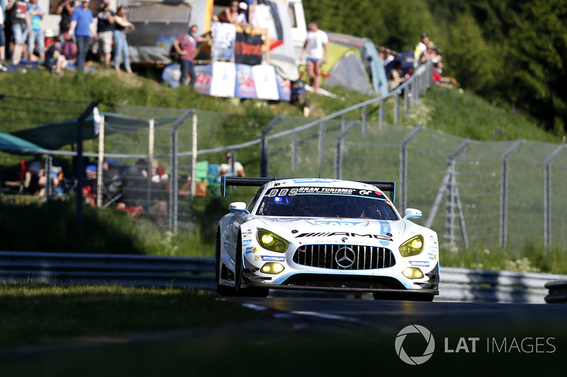 5. #1 Black Falcon, Mercedes-AMG GT3