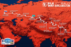Silk Way Rally presentatie in Moskou