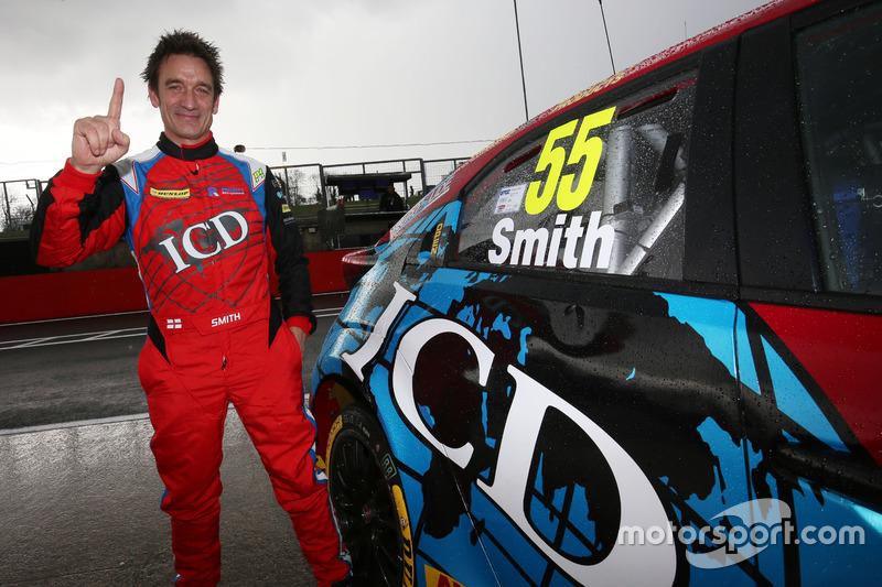 Pole para Jeff Smith, Eurotech Racing Honda Civic Type R