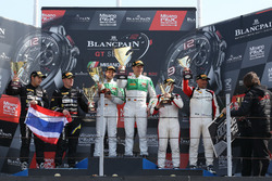 Podium Pro AM Cup: Race winner #333 Rinaldi Racing, Ferrari 488 GT3: Alexander Matschull, Daniel Kei