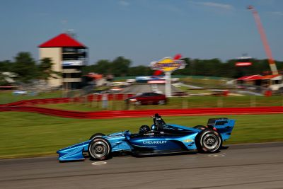 Тесты машин IndyCar 2018 года в Мид-Огайо