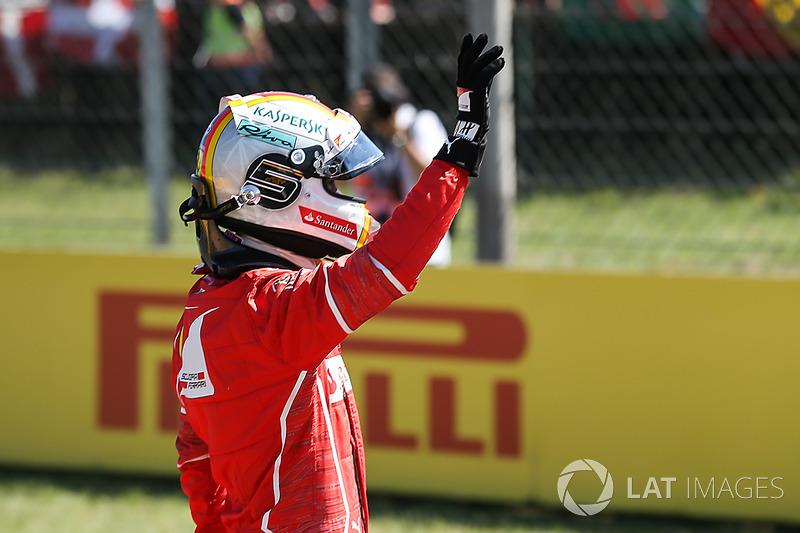 Володар поул-позиції Себастьян Феттель, Ferrari