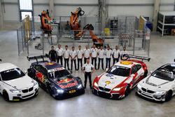 BMW M235i R, BMW M4 DTM, Nico Menzel, Dirk Adorf, Marco Wittmann, BMW Team RMG, Antonio Felix da Costa, Tom Blomqvist, BMW Team RBM, Maxime Martin, BMW Team RBM, Jens Marquardt, BMW Motorsport Director, Martin Tomczyk, Bruno Spengler, BMW Team RBM, Augusto Farfus, BMW Team RMG, Timo Scheider, Timo Glock, BMW Team RMG, BMW M6 GT3 and BMW M4 GT4