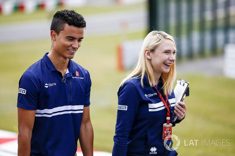 Паскаль Верляйн, Sauber, старший стратег Sauber F1 Team Рут Баскомб