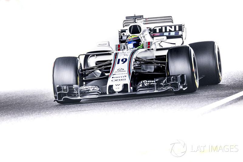 16. Felipe Massa, Williams FW40