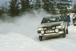 Stig Blomqvist, Björn Cederberg, Audi 80 Quattro