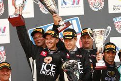 Podium: second place #12 Competition Motorsports powered by Ice Break, Porsche 991 GT3 R: David Calvert-Jones, Patrick Long, Marc Lieb, Matt Campbell
