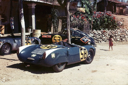 Porsche at the 1954 Panamericana