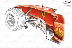 Ferrari F2004 (655) 2004 Monaco bargeboard