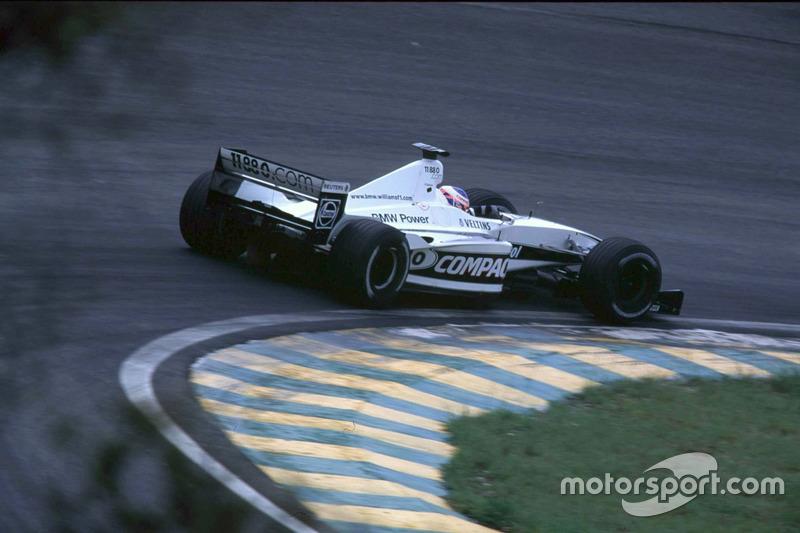 Jenson Button, Williams FW22 BMW