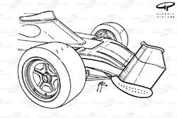 Scuderia Ferrari SpA SEFAC front wing and nose