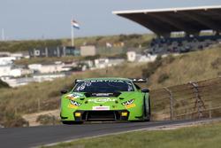 #19 GRT Grasser Racing Team, Lamborghini Huracán GT3: Ezequiel Perez Companc, Mirko Bortolotti