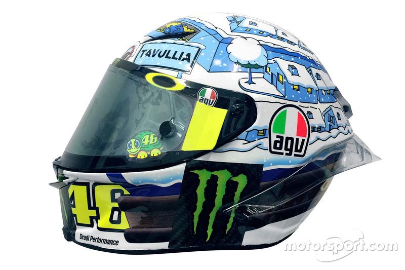 Helm Valentino Rossi, Yamaha Factory Racing