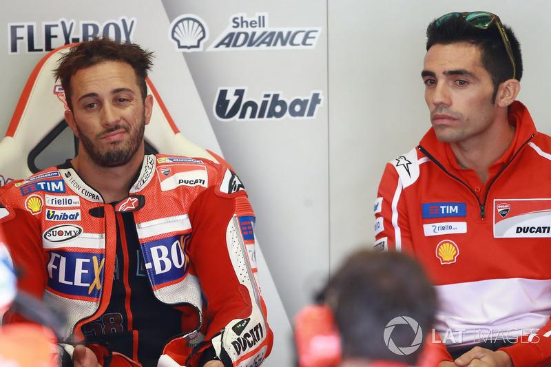 Андреа Довіціозо, Ducati Team, Pirro