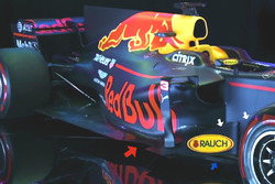 Red Bull Racing RB13: Seitenkasten