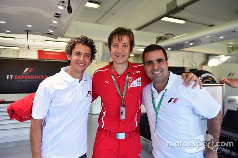 Massimo Rivola, Ferrari and Zolt Baumgartner